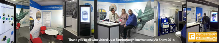 Thank you to all who visited us at Farnborough International Air Show